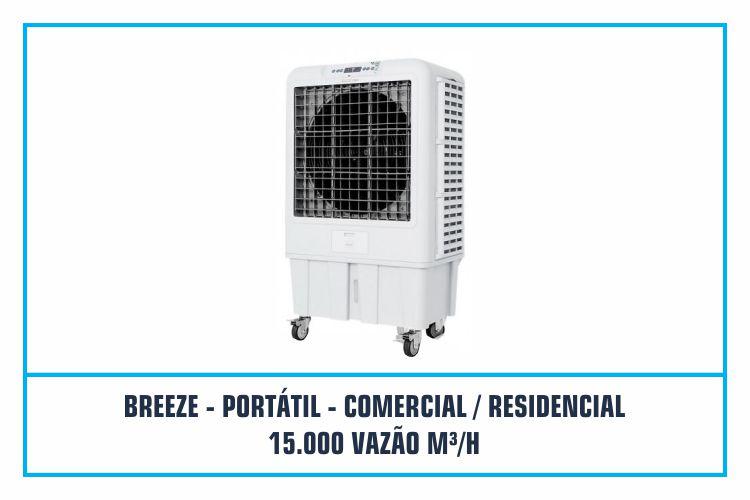 CLIMATIZADOR PORTÁTIL - COMERCIAL - RESIDENCIAL - 15.000