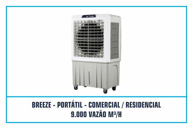 CLIMATIZADOR PORTÁTIL - COMERCIAL - RESIDENCIAL - 9.000